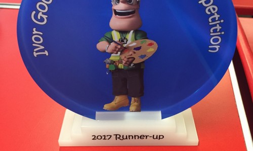 Runner's up trophy