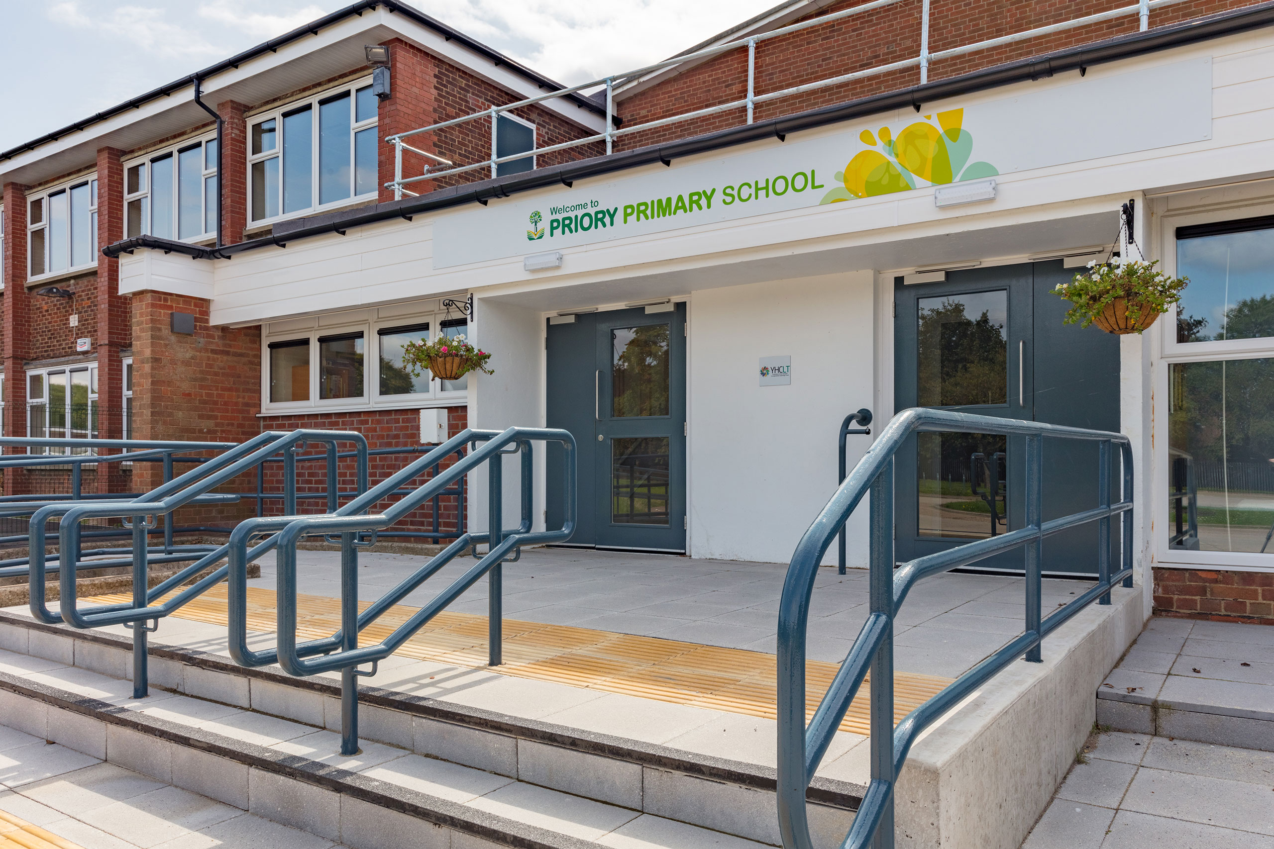 Priory-School-entrance-exterior