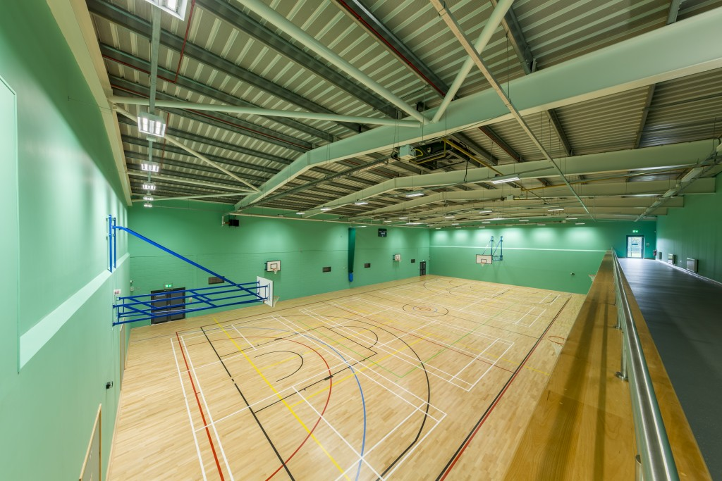 Riseholme sports hall